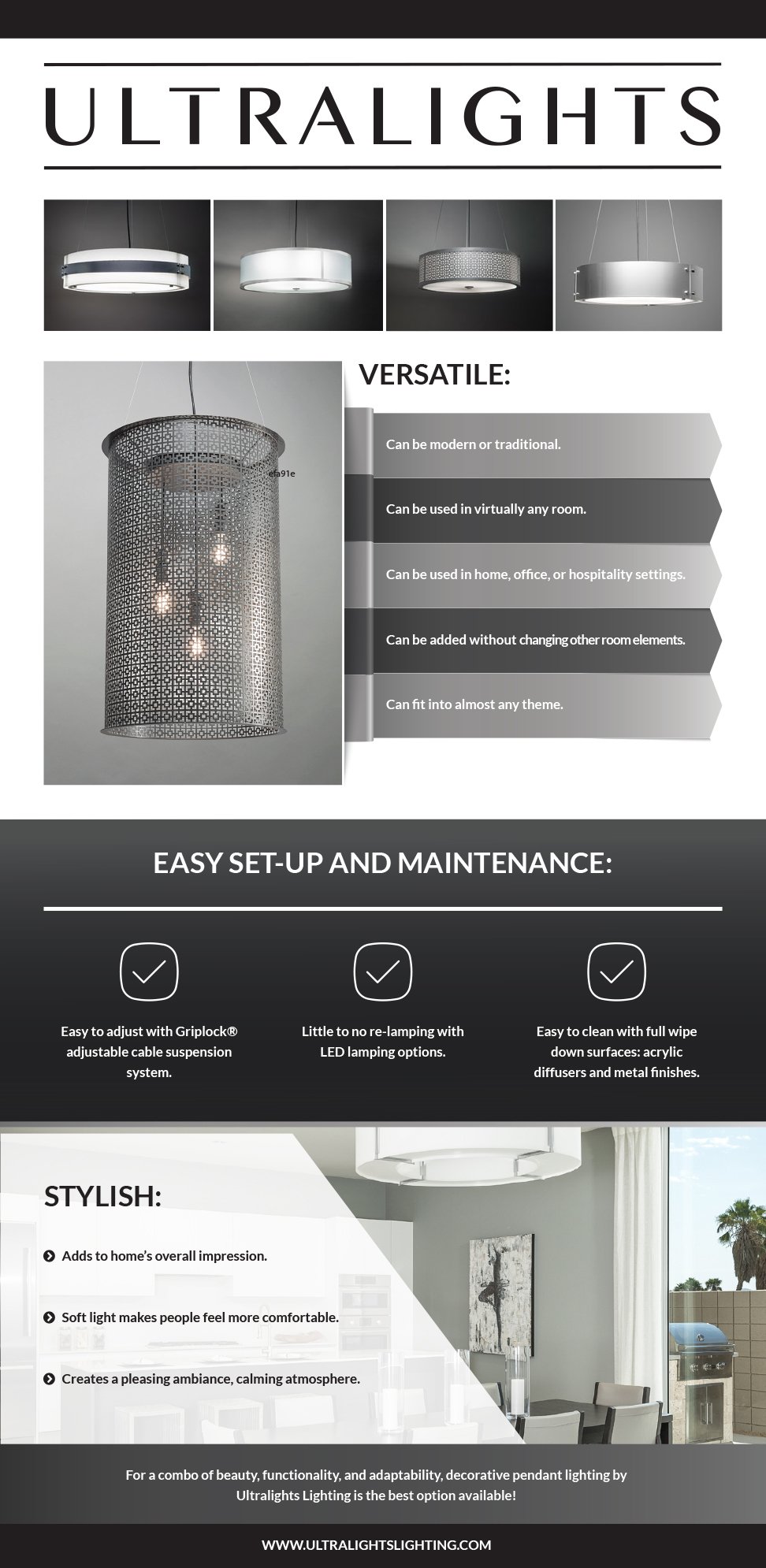 Pendant Lighting Benefits